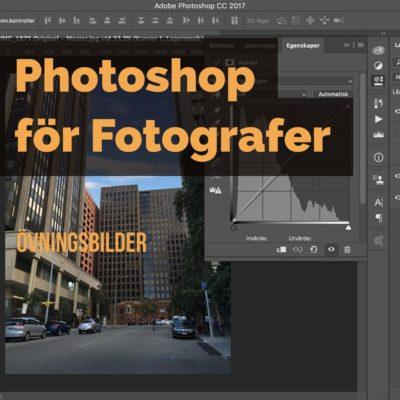 Photoshop för fotografer - övningsbilder