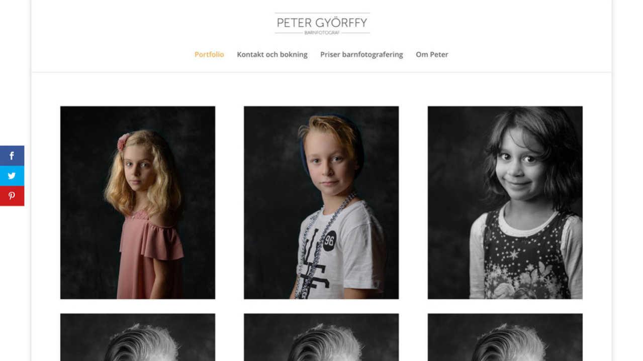 Starta eget som fotograf – webbsidan och fler bilder