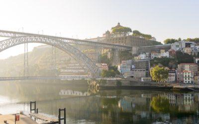 Redigering i Lightroom, bron i Porto