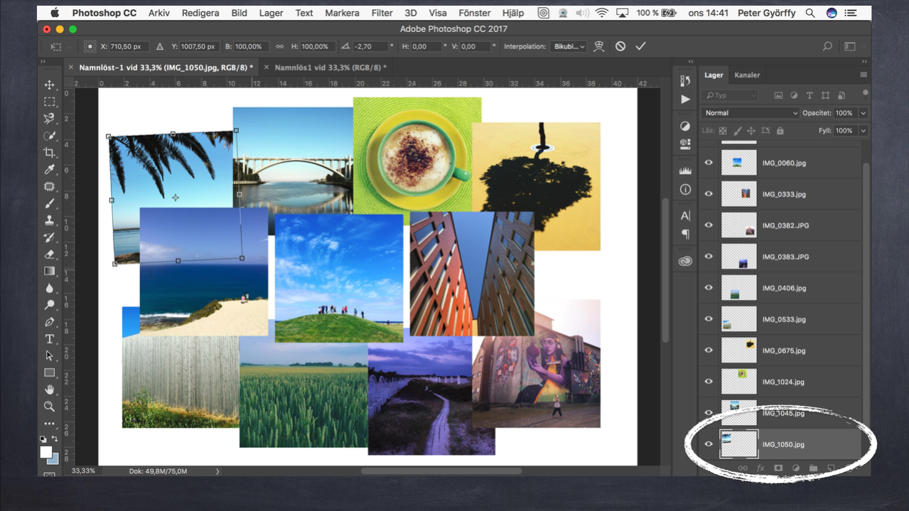 Ny kurs på Moderskeppet, Photoshop för Lightroomanvändare