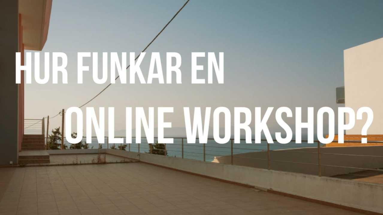 Hur funkar en online workshop?