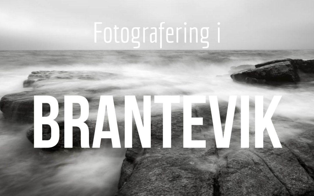 Fotografering i Brantevik