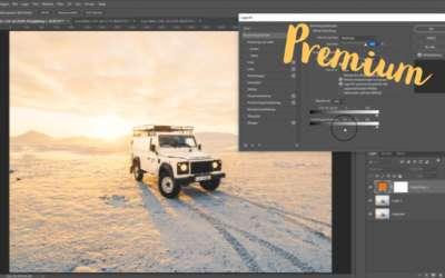 Tona bilder i Photoshop, enfärgat lager