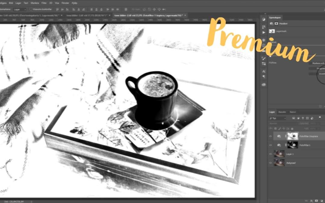 Tona bilder i Photoshop, fotofilter