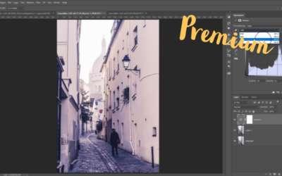 Tona bilder i Photoshop, kurvor