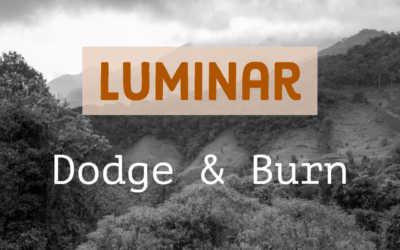 Dodge & Burn i Luminar
