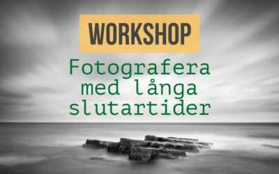 Workshop, fotografera med långa slutartider