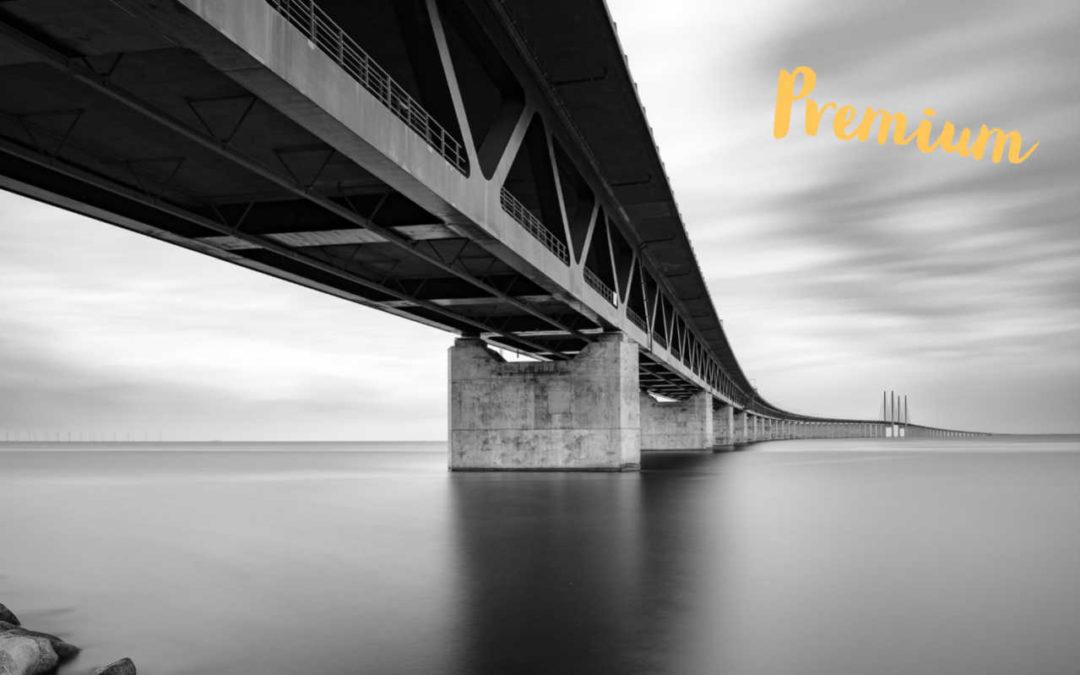 Bildredigering, Öresundsbron
