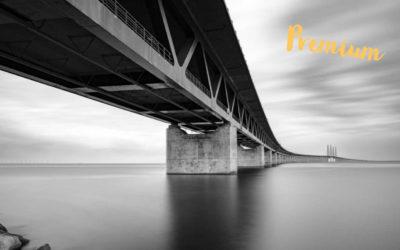 Fotografering vid Öresundsbron