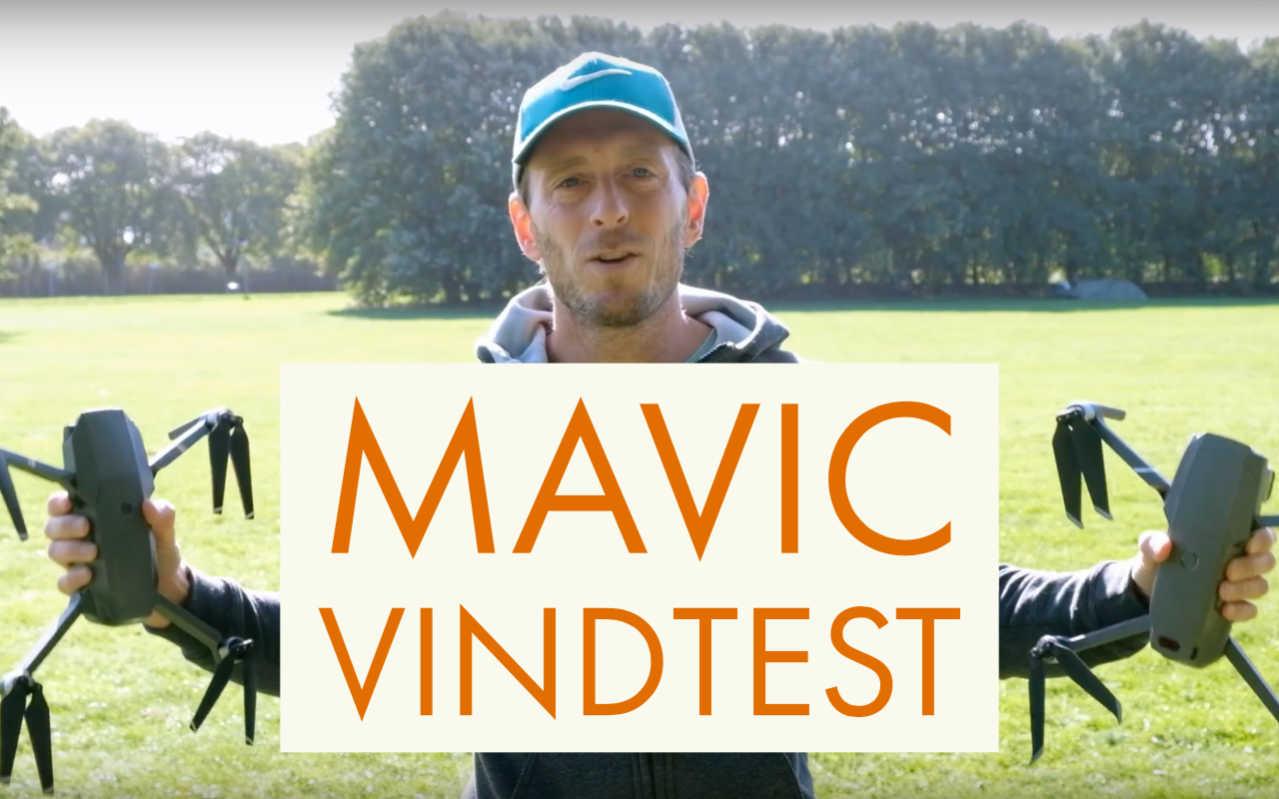 Mavic 2 Pro i hårda vindar
