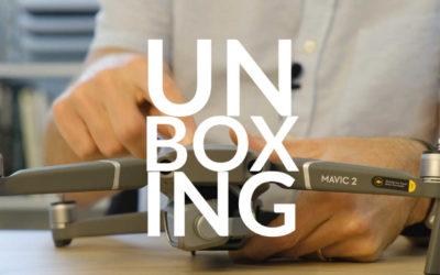 Mavic 2 Pro, unboxing