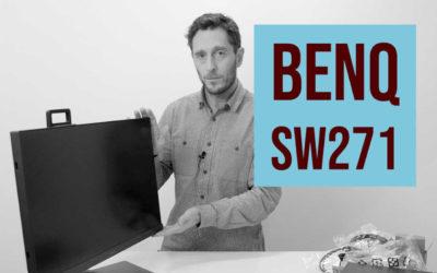 BenQ SW271 unboxing och första intryck