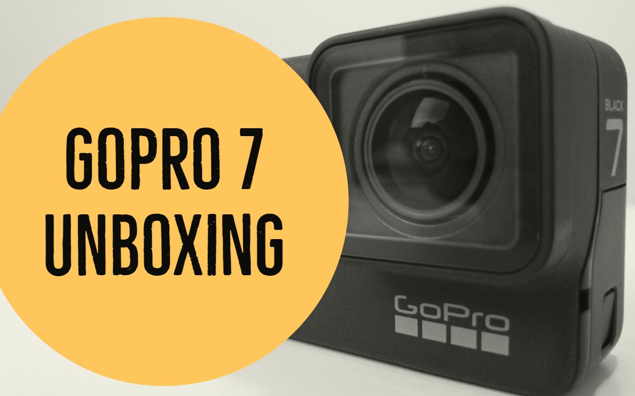 Gopro Hero 7 unboxing