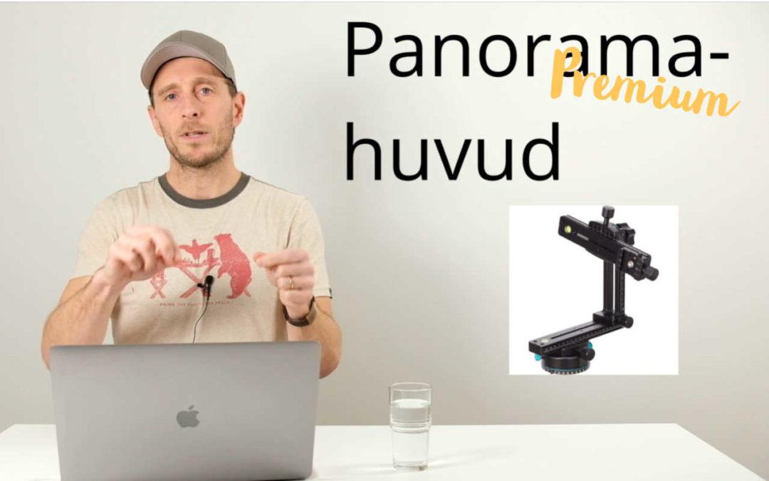 Hur fotograferar du ett panorama