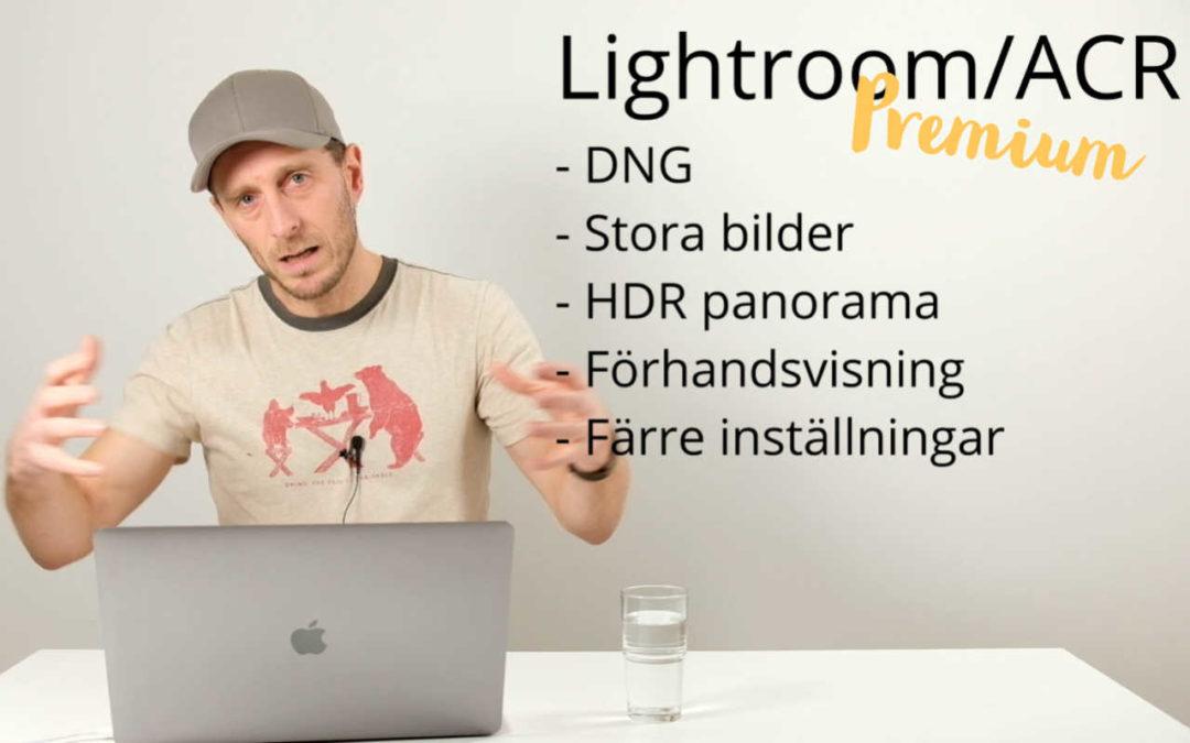 Lightroom eller Photoshop