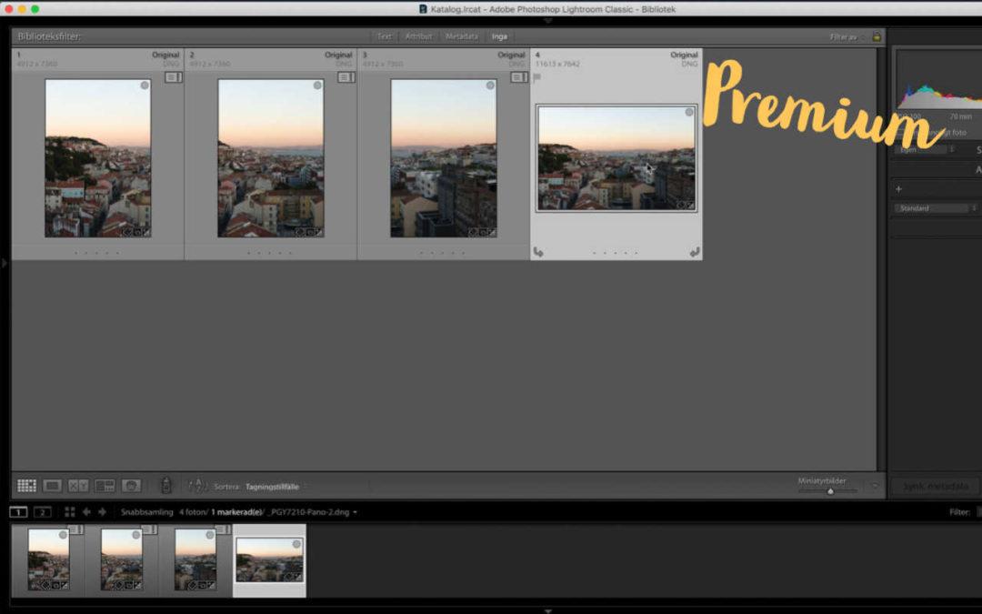 Redigering i Lightroom, del 1